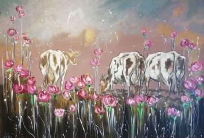 Картина «Коровки»