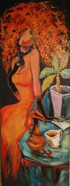 Картина «Девушка с кувшином»