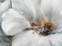 Картина «Дыхание утра» купить живопись цветы  для современных интерьеров Украина