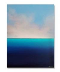 Картина маслом морской пейзаж «Tender Deep Vibes» купить живопись Киев Украина
