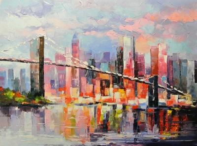 Картина «Из Бруклина в Манхеттен»