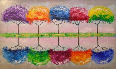 Картина «Каждое дерево пахнет по своему»