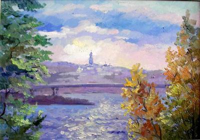 Картина «Киевские дали»