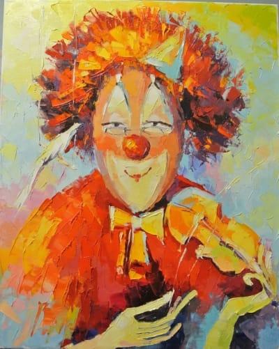 Картина «Клоун»