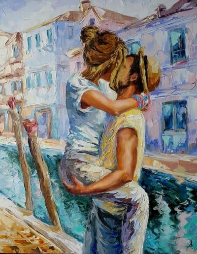 Картина «Любовь в Венеции»