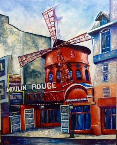 Картина «Moulin Rouge»