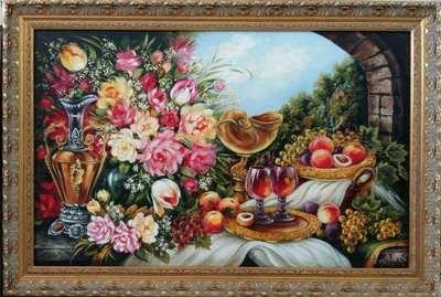 Картина «Натюрморт в голландском стиле» 2