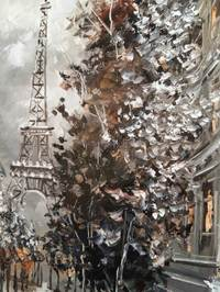 Картина «О... этот сказочный Париж» в раме