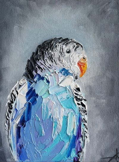 Картина «Попугай» 2