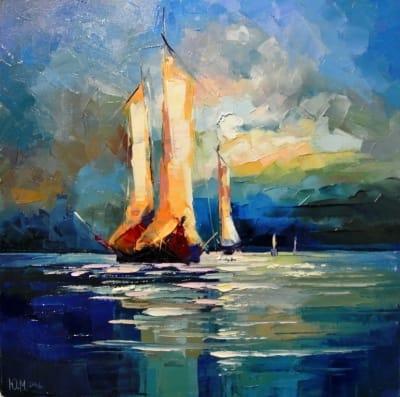 Картина «Перед штормом»