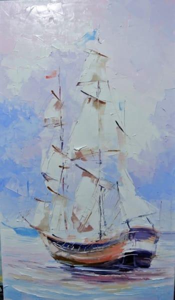 Картина «Под парусами»