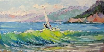 Картина «Покоряя волны»