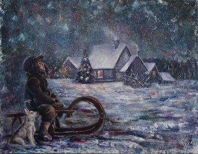 Картина «Рождественская ночь»
