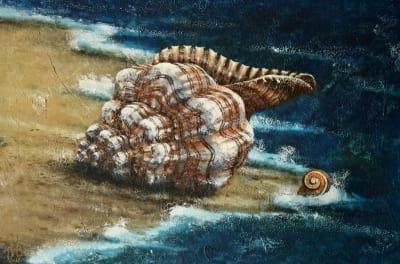 Картина «Морские ракушки»