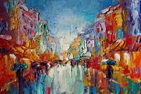 Картина «Весенний дождь»
