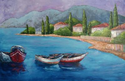 Картина «Средиземноморье. Воспоминания»