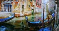Картина «Летний пруд»