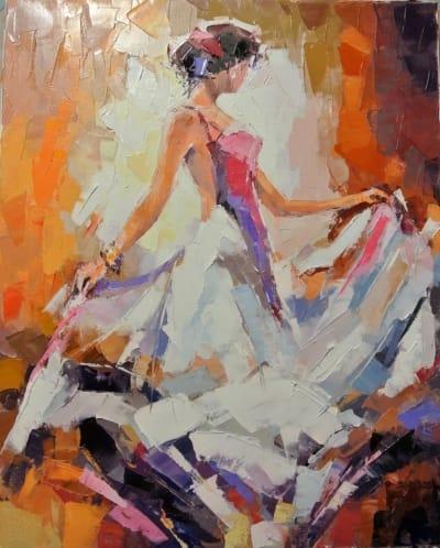 Картина «Танцовщица» 2