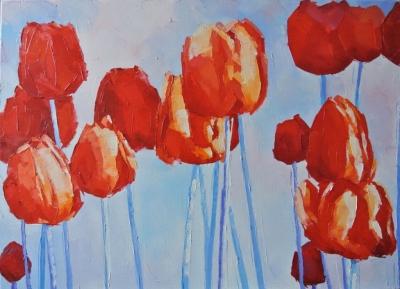 Картина «Тюльпаны» 5