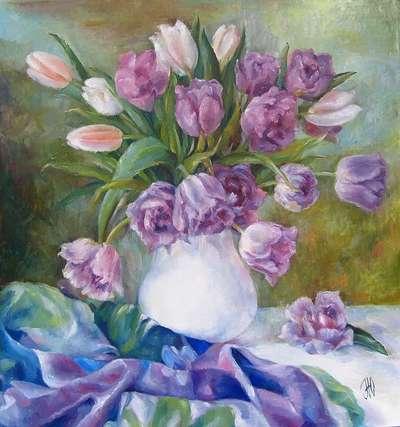 Картина «Тюльпаны 2»