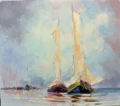 Картина «В море» 2