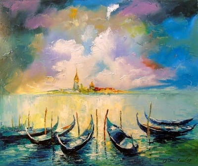Картина «Венеция перед дождем»