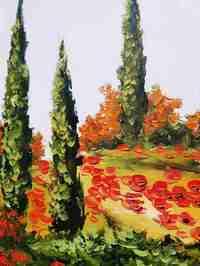 Картина «Яркие краски Прованса» в раме