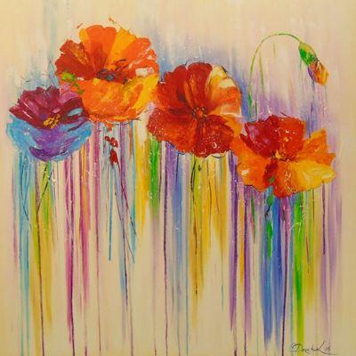 Картина «Абстракция цветов»