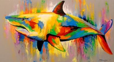 Картина «Акула»