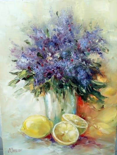 Картина «Аромат лимонов»