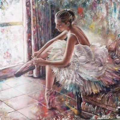 Картина «Балерина» купить картину маслом Киев
