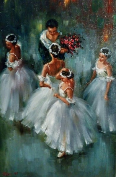 Картина «Балерины»