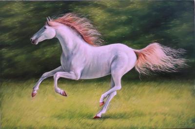 Картина «Бегущий за ветром»