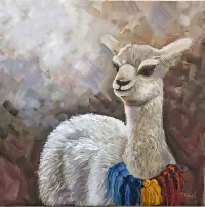 Картина «Белая лама»