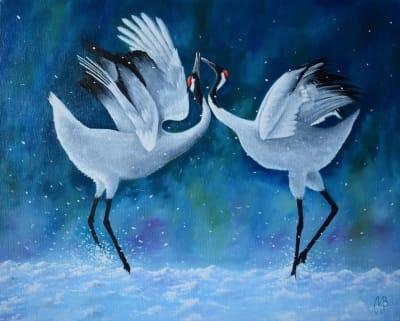 Картина «Белый танец»