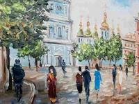 Картина «Виды Киева. София Киевская»