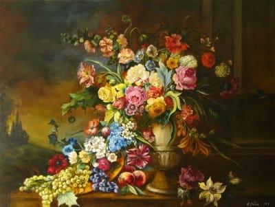 Картина «Большой букет цветов»