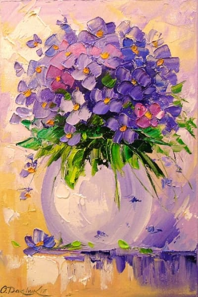 Картина «Букет цветов» 6
