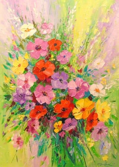 Картина «Букет цветов» 3