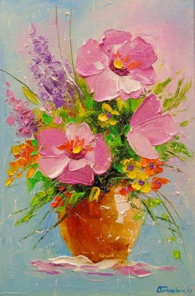 Картина «Букет цветов»