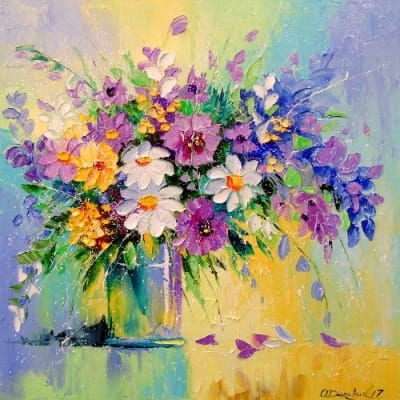 Картина «Букет цветов» 5
