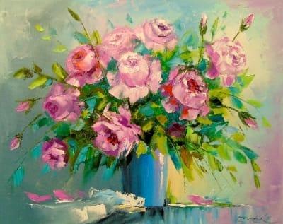 Картина «Букет роз» 3