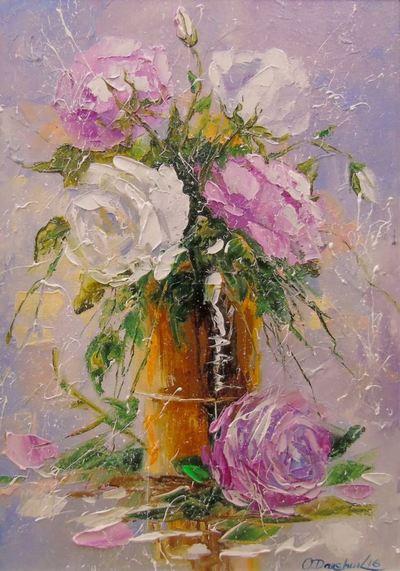 Картина «Букет роз» 2
