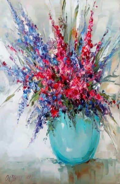 Картина «Букетик» живопись для современных интерьеров Украина купить картину цветы