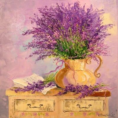 Картина «Букет лаванды»
