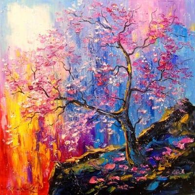 Картина «Цветение сакуры»