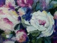Картина «Цветы в вазе»