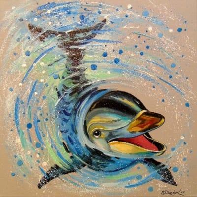 Картина «Дельфин»
