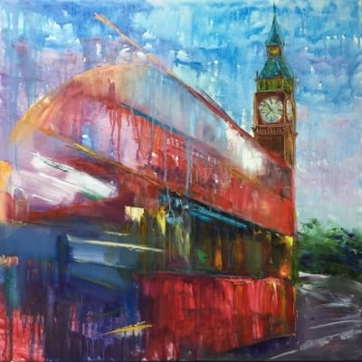 Картина «Динамичный Лондон»