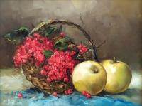Картина натюрморт «Родное» купить живопись для современных интерьеров Украина
